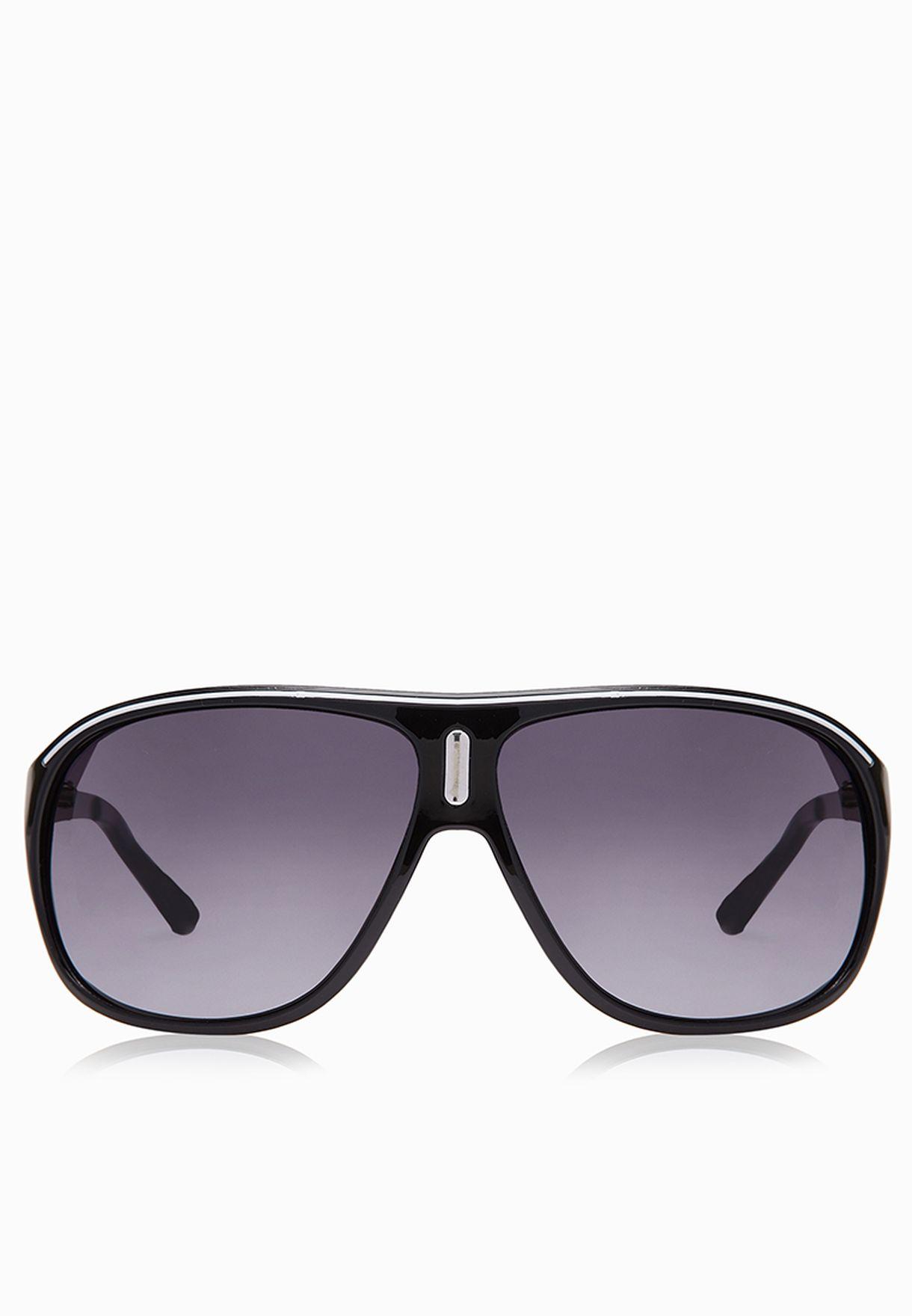 74866883ba Shop Jack Jones black Space Sunglasses 12056755 for Men in Saudi ...