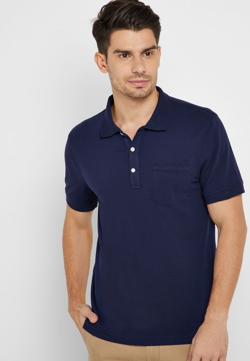 Classic Stretch Pique Polo