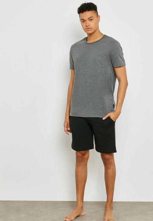 Camo Strap Shorts