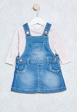 Baby Poppy Deni Dress
