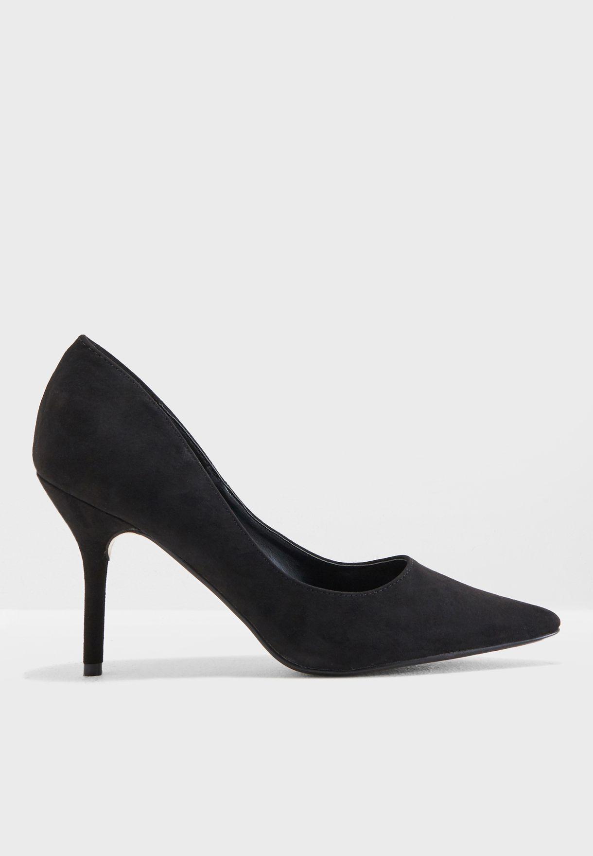 668e6a086fb Shop Truffle black Meg Heeled Pump MEG1 for Women in Saudi ...