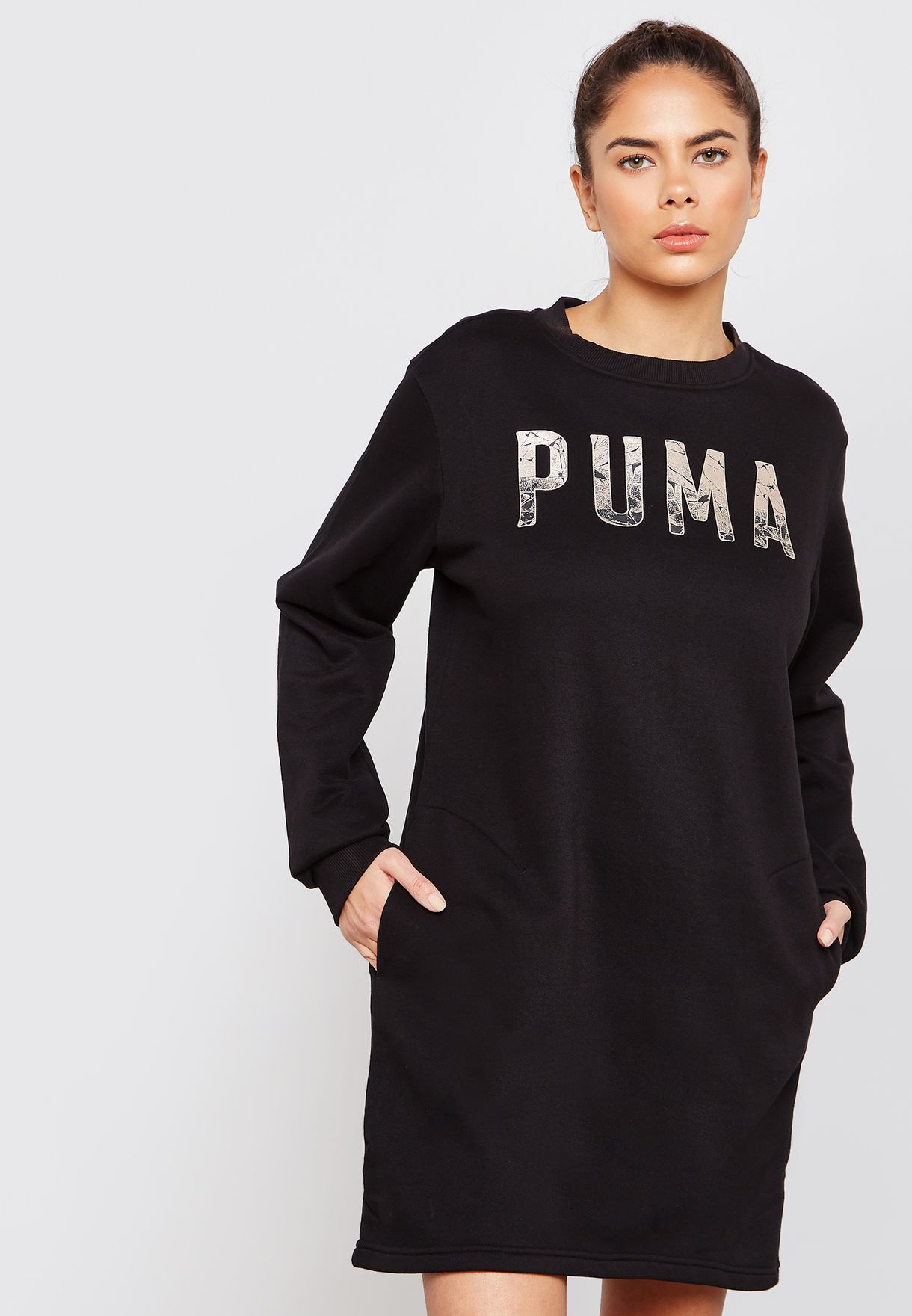 a430e74d60d0 Shop PUMA black Athletic Dress 85186801 for Women in UAE - PU020AT48VYH