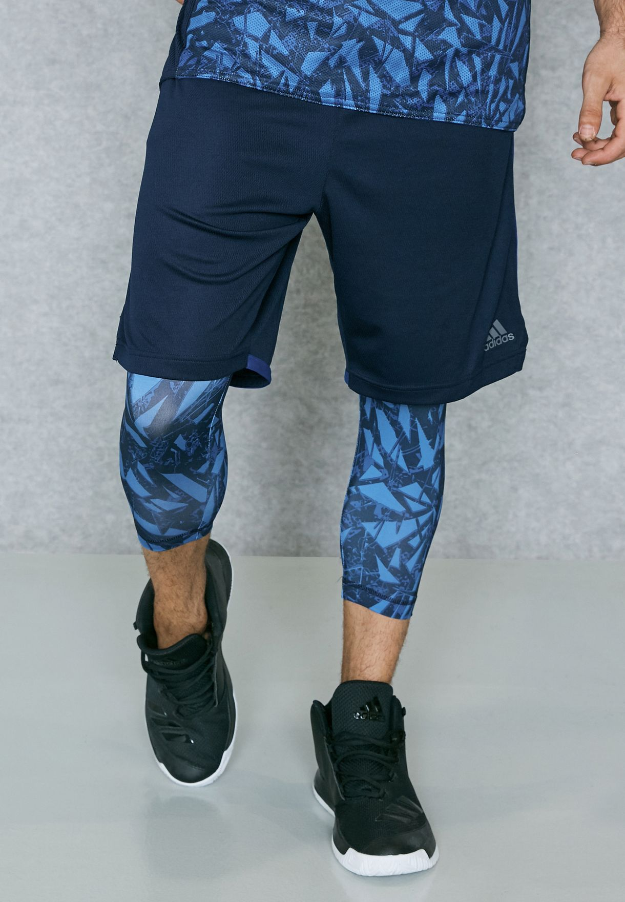 Shop Navy Shorts Qatar For Br4396 Men In Essential Adidas 2in1 aWanrZp
