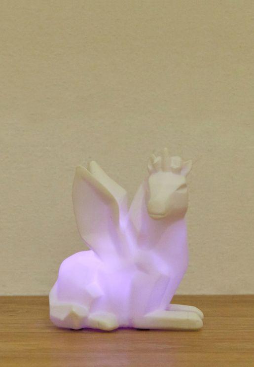 Unicorn LED Colour Changing Lamp