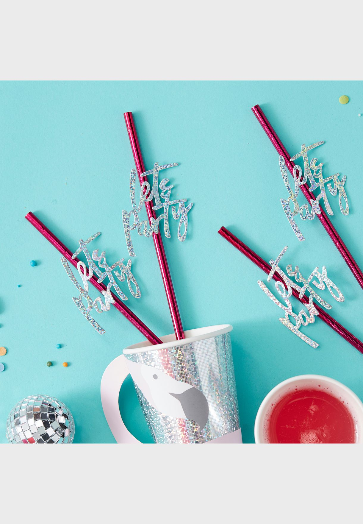Let's Party Straw
