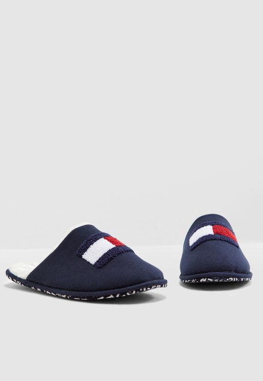 Varsity Flag Bedroom Slippers