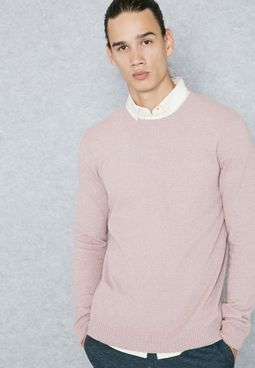 Boucle Slim FIt Sweater