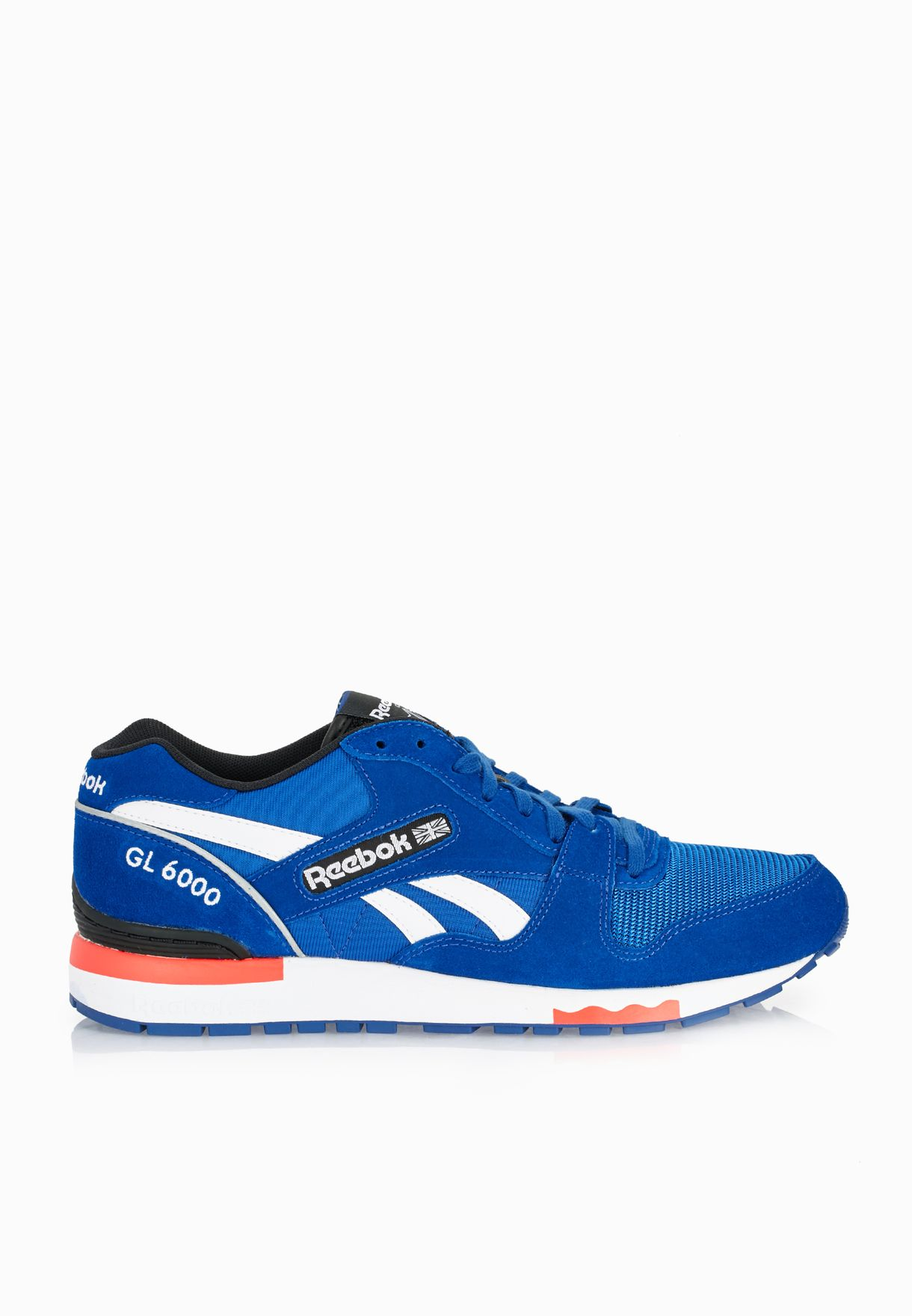best website 05012 7dc60 Shop Reebok blue GL 6000 PP AQ9751 for Men in Oman - RE019SH48NLR