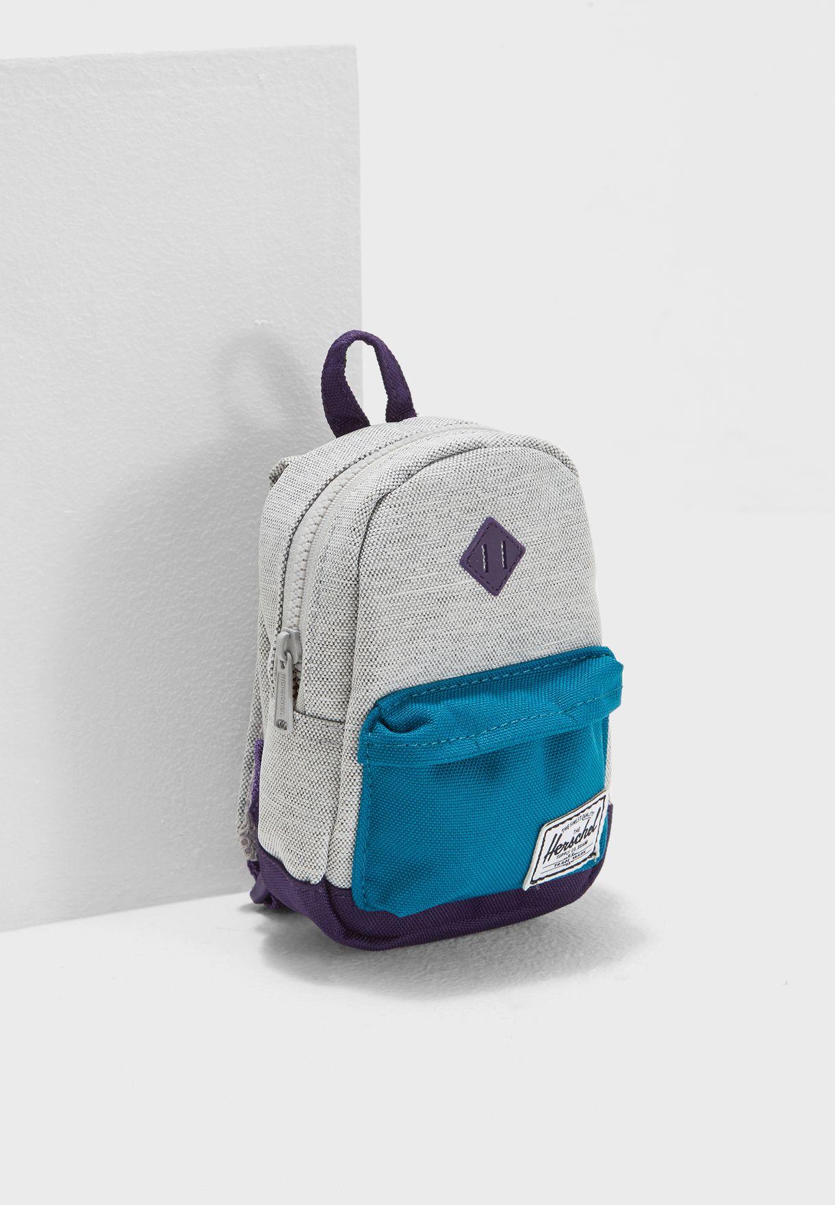 9d39c08e556 Shop Herschel multicolor Mini Heritage Backpack 10249-01672-OS for Kids in  Bahrain - HE829AC48FDZ