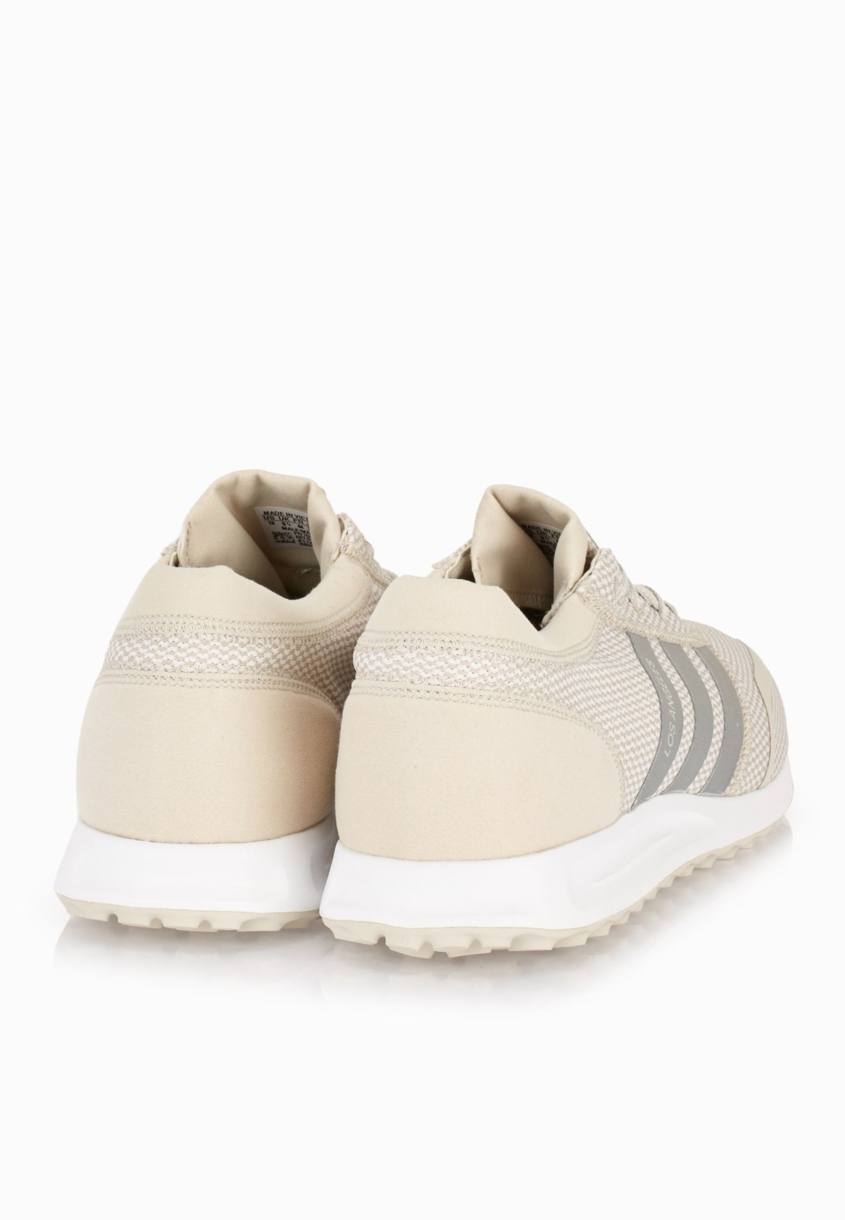adidas Originals Mens Los Angeles Trainers Beige Size UK 13.5 S75989