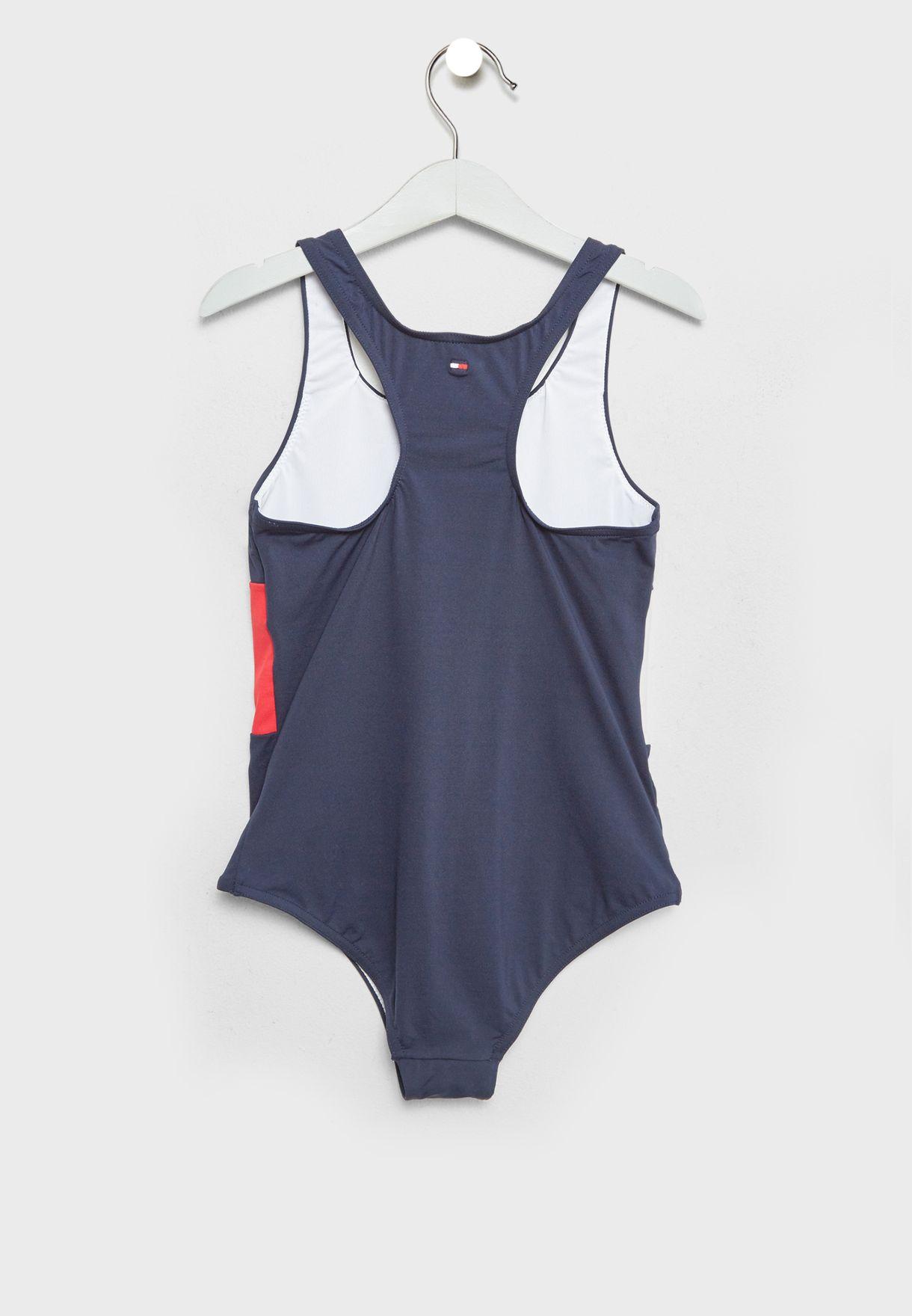 Teen Color Block Swimsuit