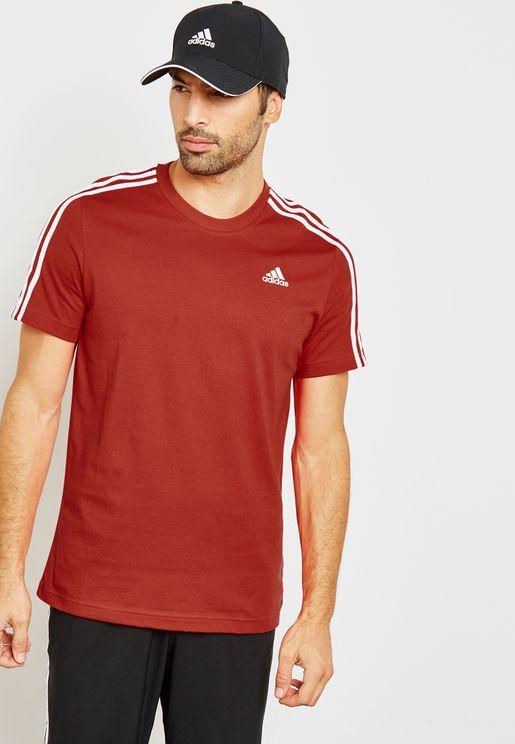 Essential 3 Stripe T-Shirt