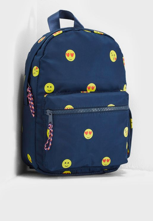 Kids Emoji Backpack