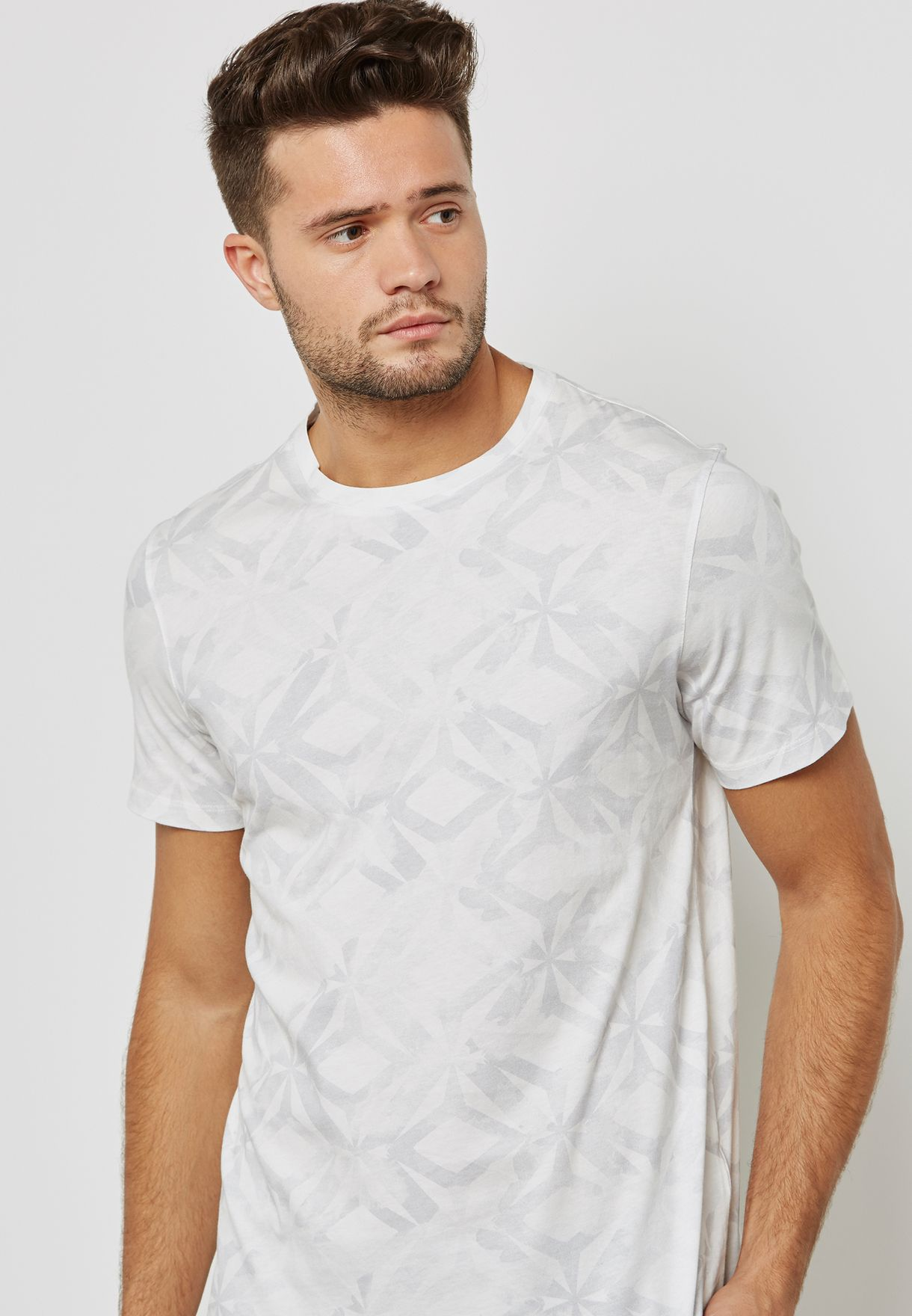 1ee8f649d2cd00 Shop Ted baker prints Woof All Over Geo Print Polo 141493 for Men in ...