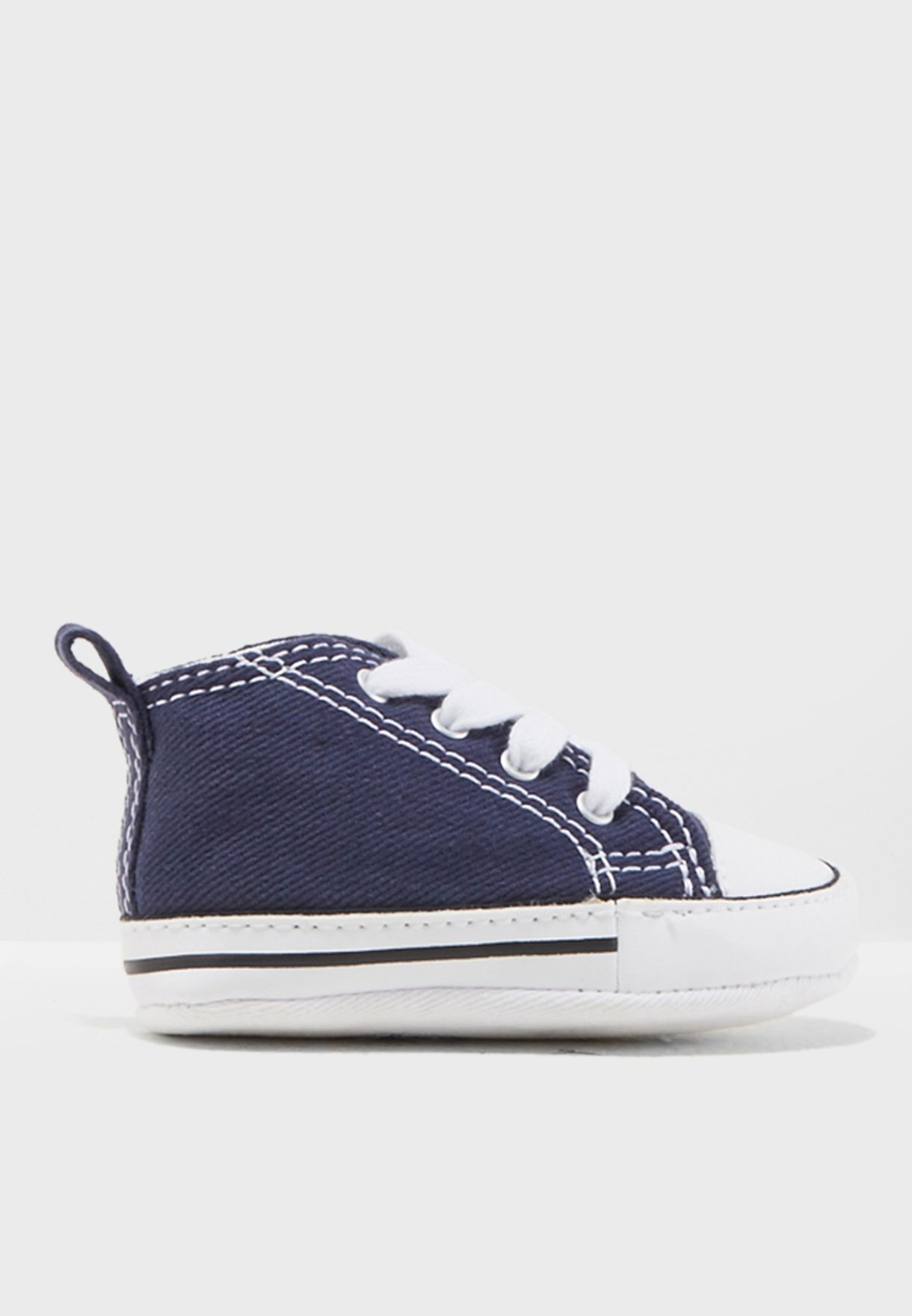 427c36a70c6e Shop Converse navy Chuck Taylor First Star 88865-410 for Kids in ...