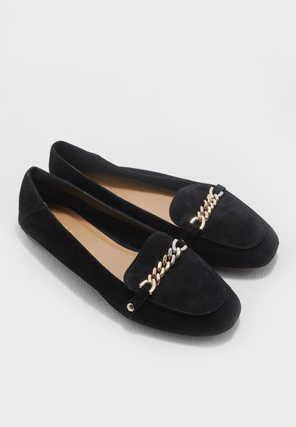 Loco Chain Trim Loafers