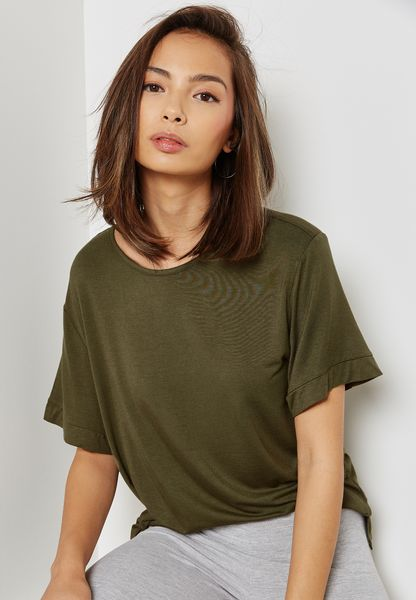 Drop Armhole T-Shirt