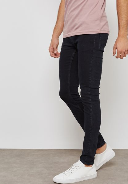 Washed Super Skinny Fit Jeans