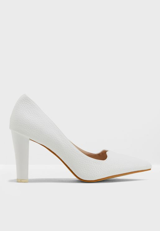 Alfy Heeled Pumps