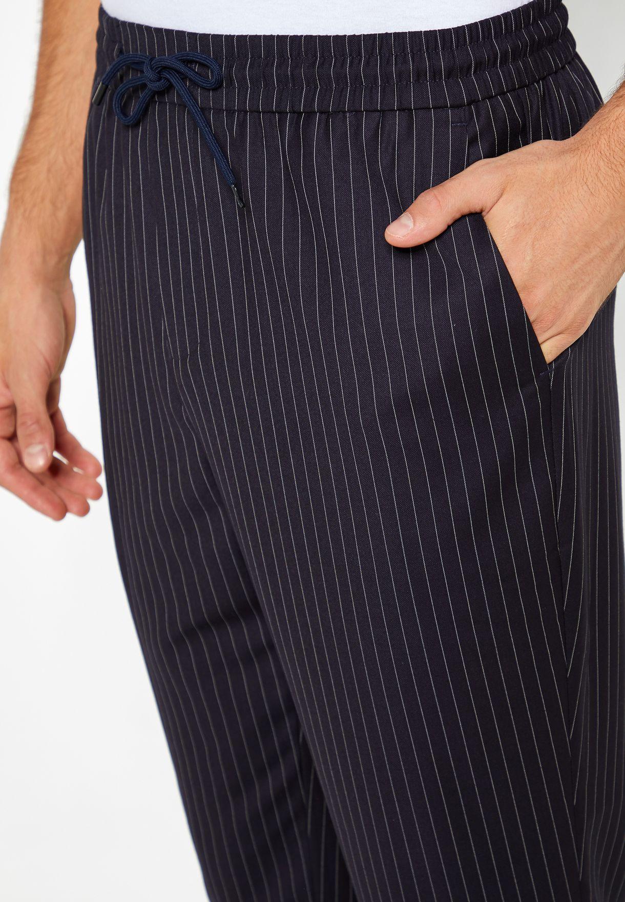 Pin Stripe Sweatpants