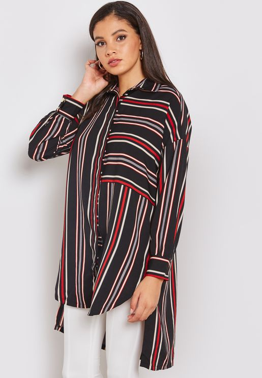 Striped Tunic Shirt