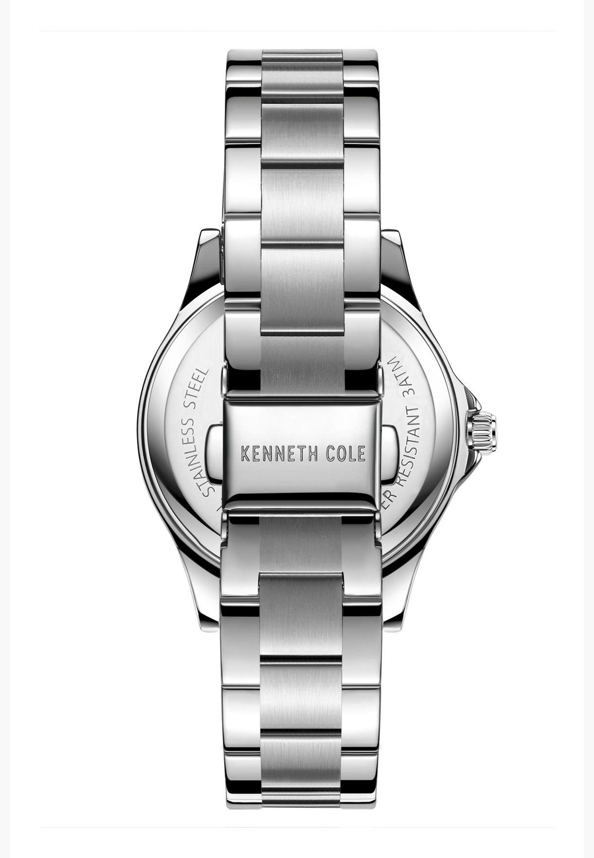 كينيث كول طقم ساعة بسوار ستانلس ستيل للجنسين - KC50994001