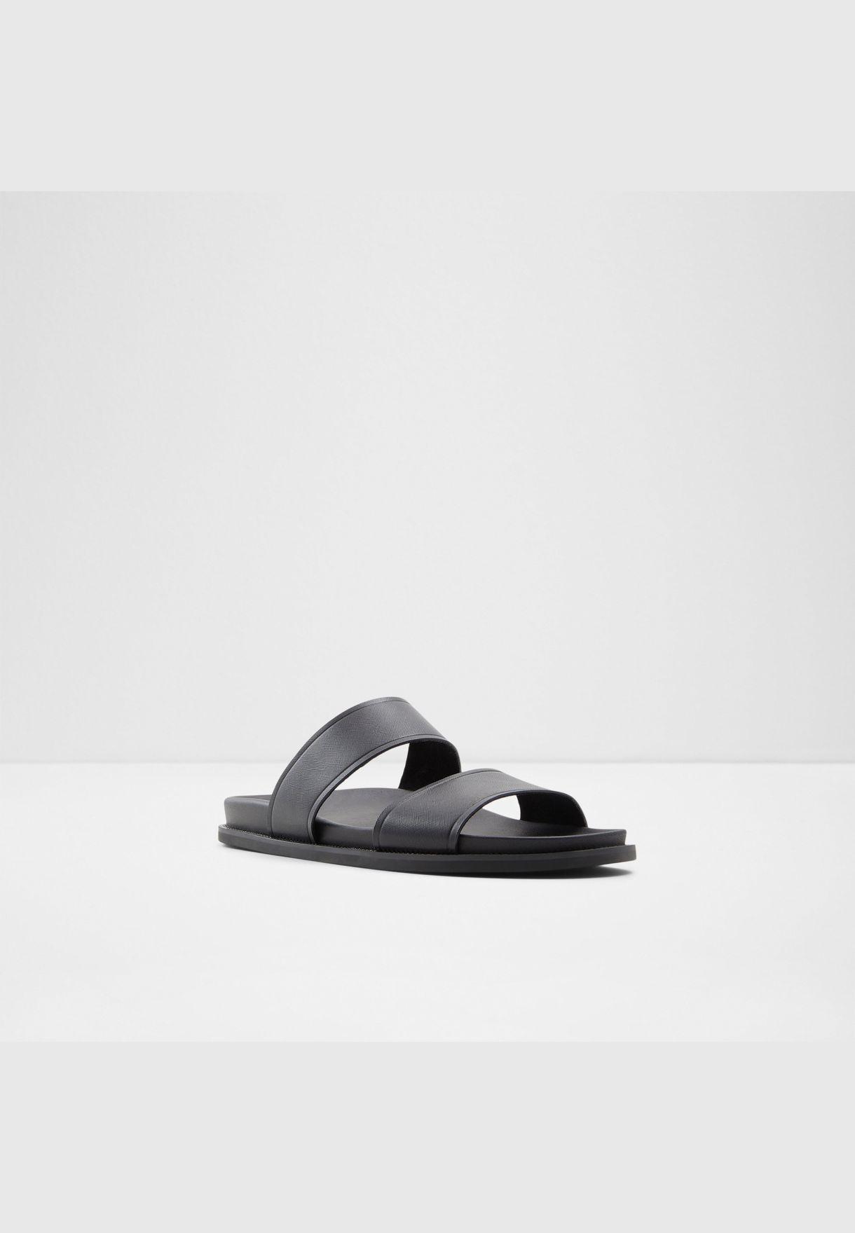 Genuine Leather Sandal Flat Heel