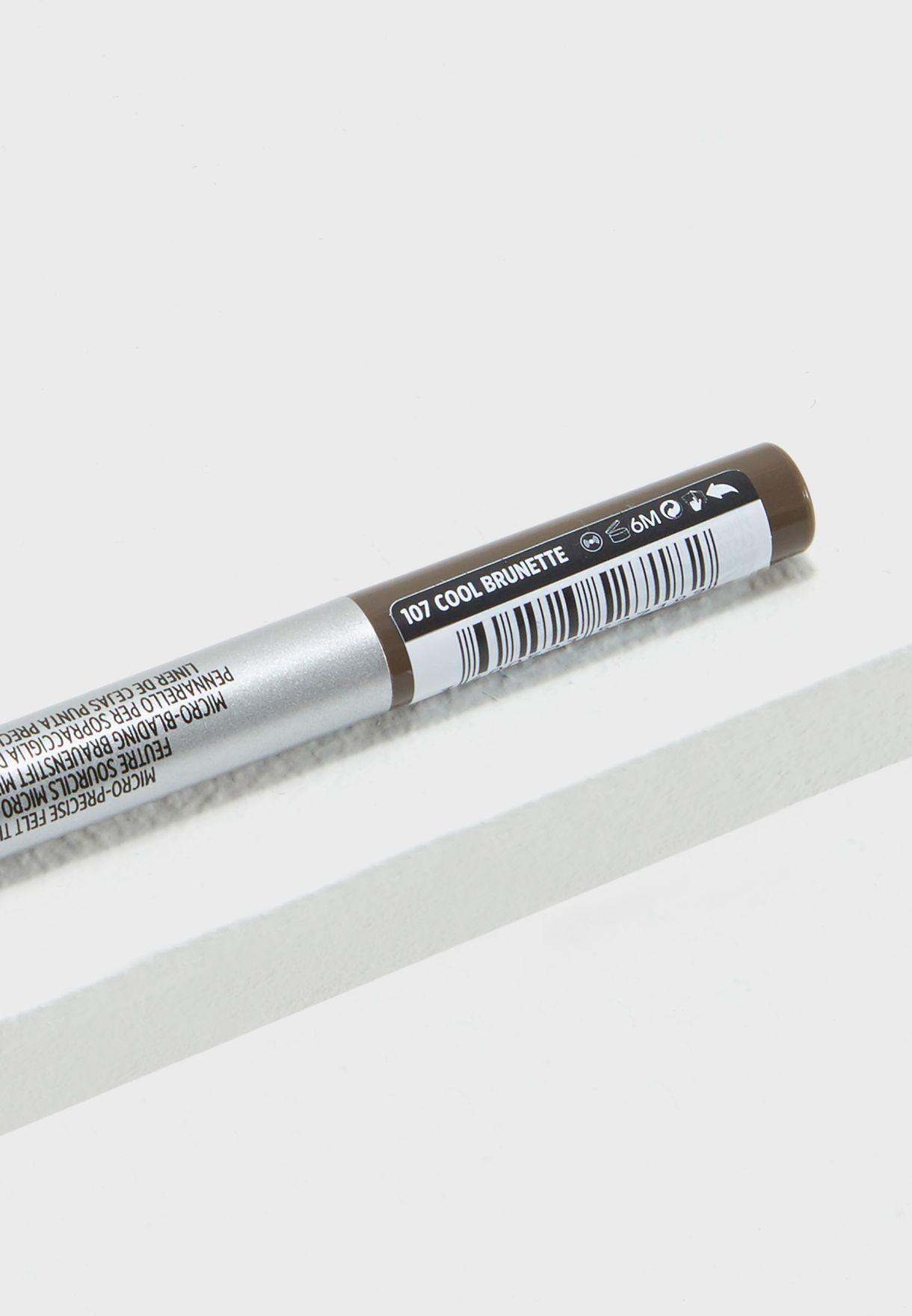 قلم حواجب برو ارتيست ميكرو تاتو 107