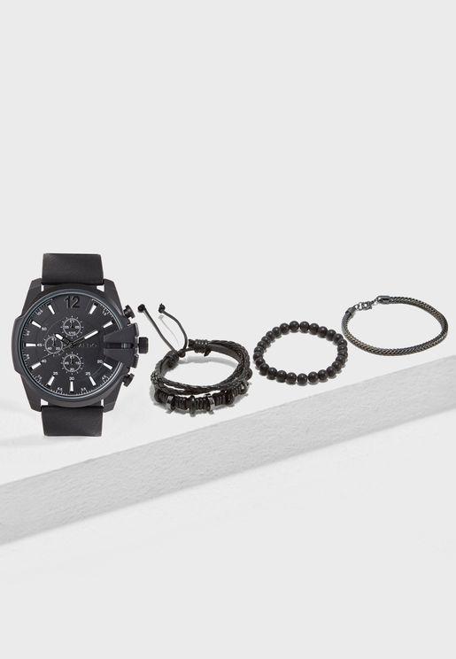 Bustoarsizio Watch With Bracelets