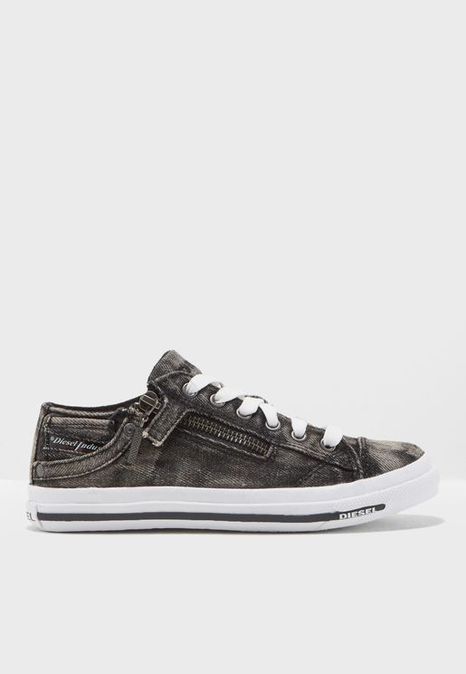 Youth Denim Sneaker