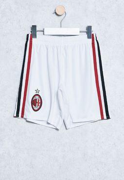 Youth AC Milan Away Shorts
