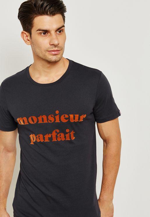 Lyon  Crew Neck T-Shirt