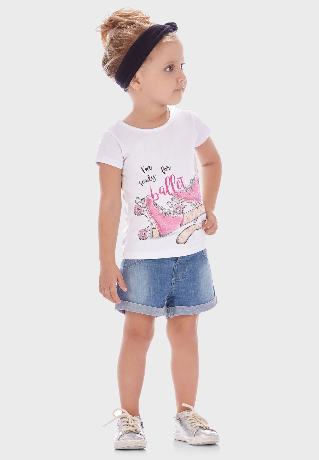 Little Slogan T-Shirt