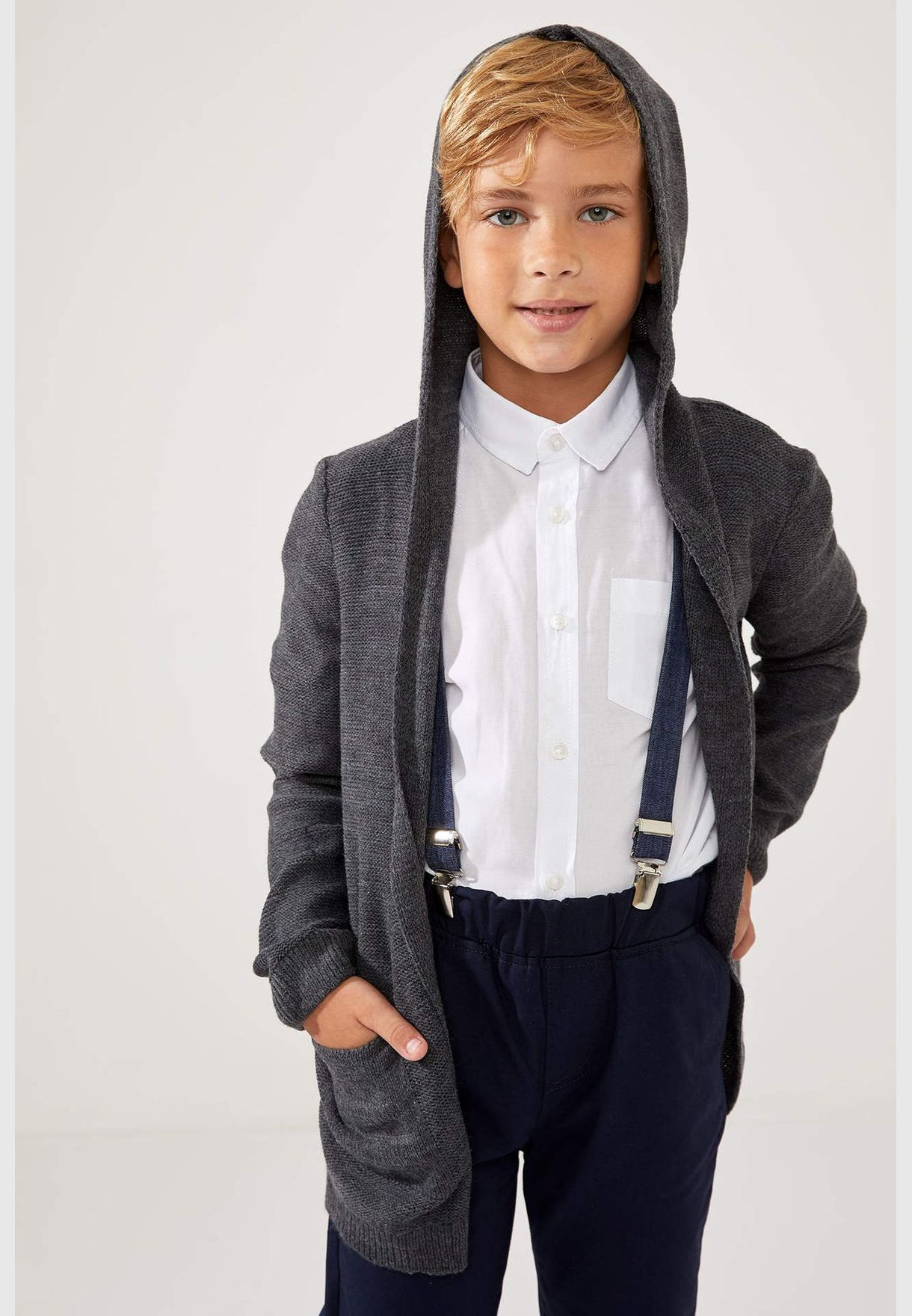 Boy Regular Fit Cardigan Bolero