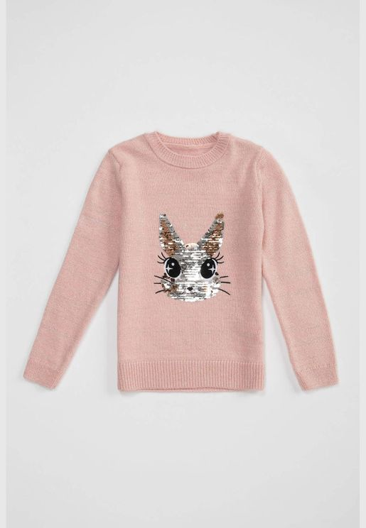 Girl Relax Fit Pullover