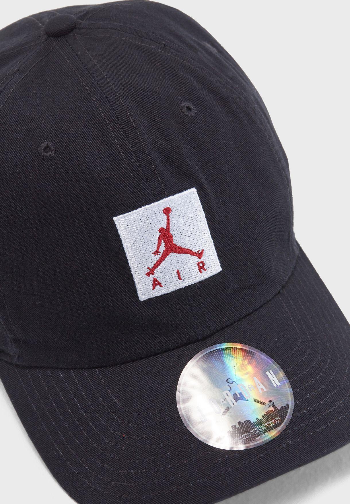 3b0c33d9a0b Shop Nike black H86 Jordan Jumpman Cap AO2869-010 for Men in Saudi ...