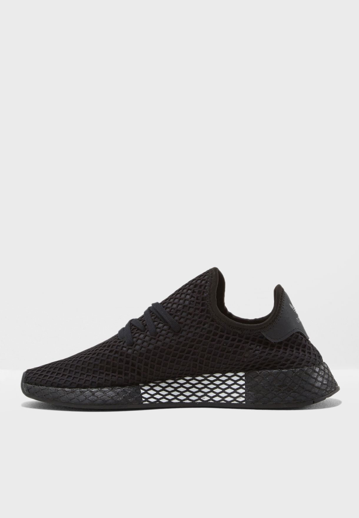best service 650e6 f7f1e Shop adidas Originals black Deerupt Runner B41768 for Men in