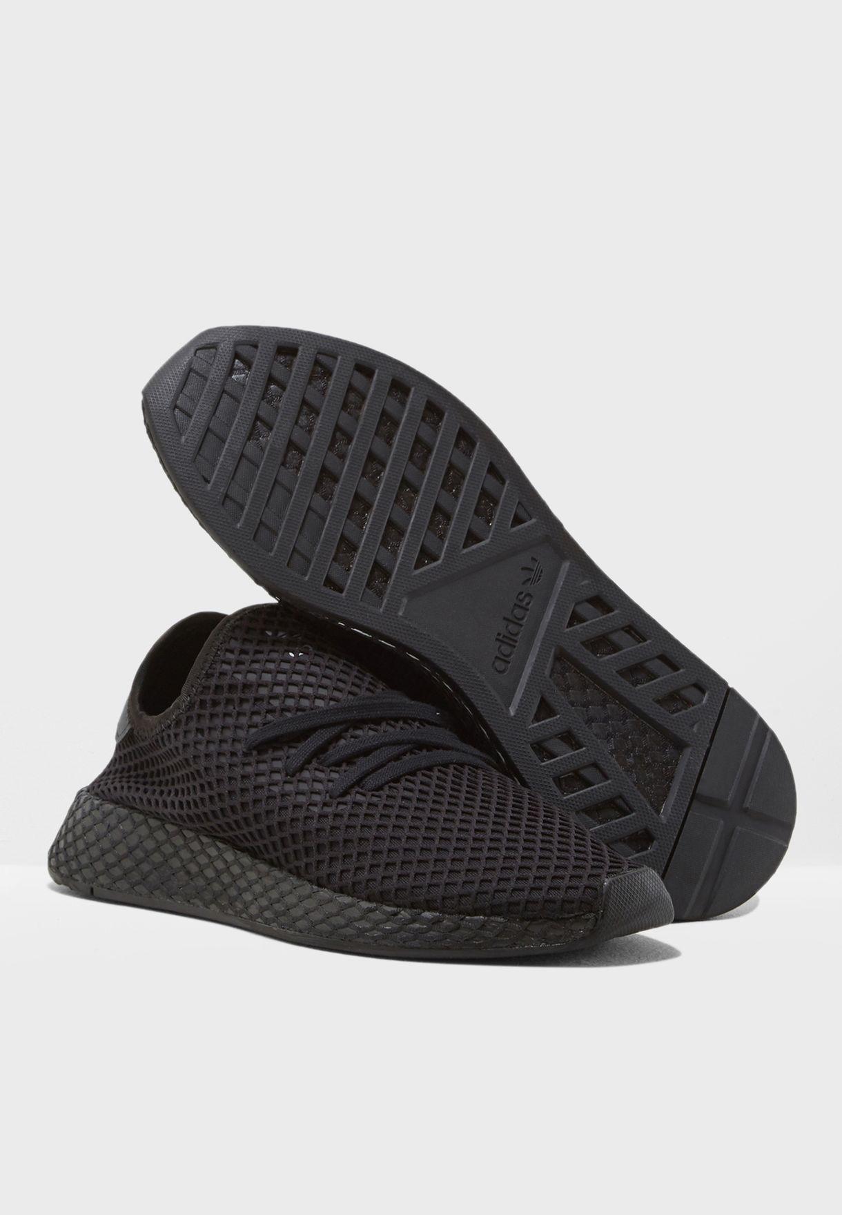 91463f4faa440 Shop adidas Originals black Deerupt Runner B41768 for Men in UAE ...