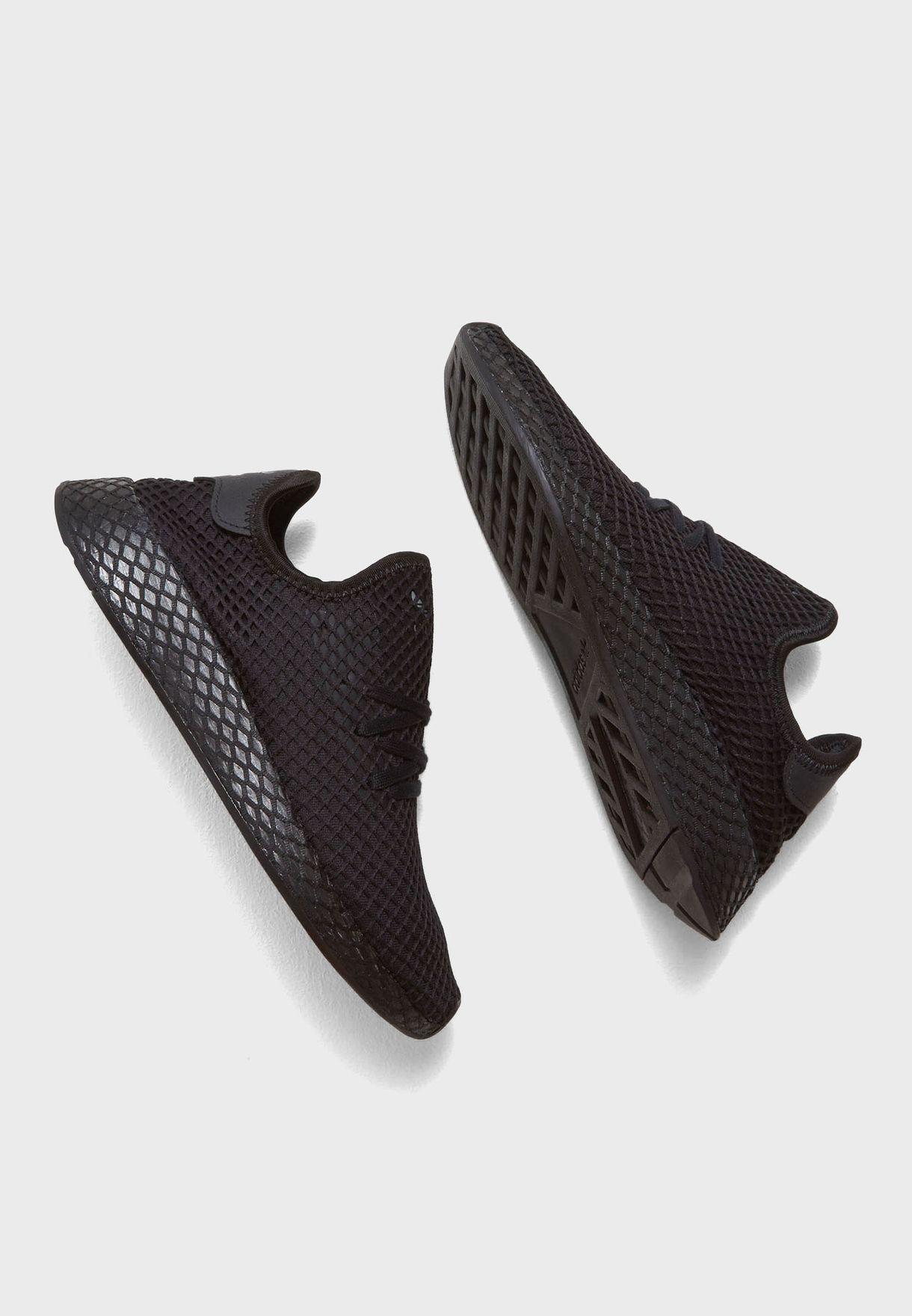 62b98fdde Shop adidas Originals black Deerupt Runner B41768 for Men in UAE ...