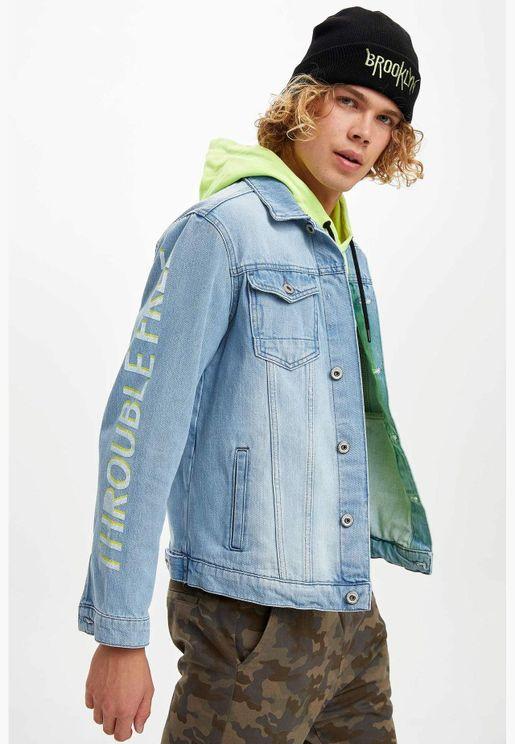 Man Slim Fit Jacket