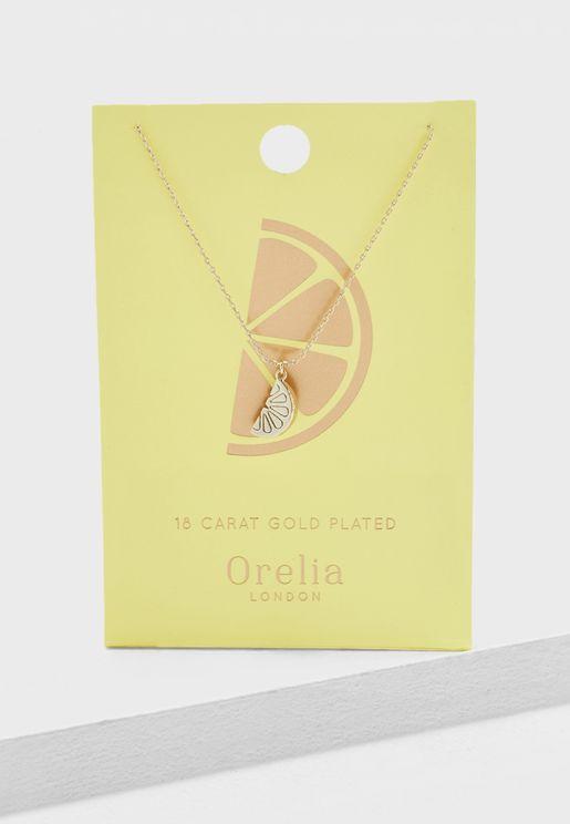 Lemon Ditsy Necklace