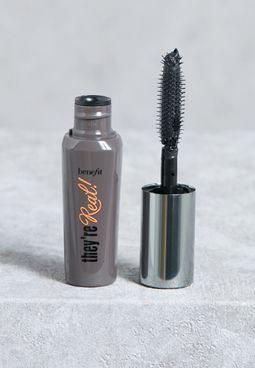 They'Re Real! Black Mini Em Mascara