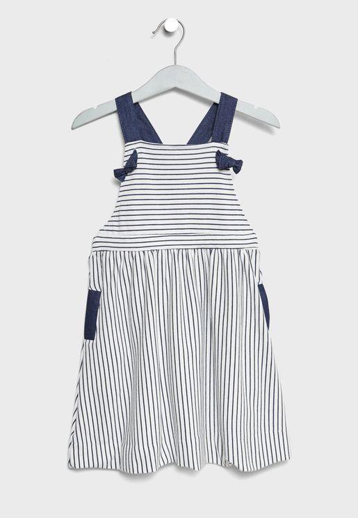Little Rachael Pinafore Dress
