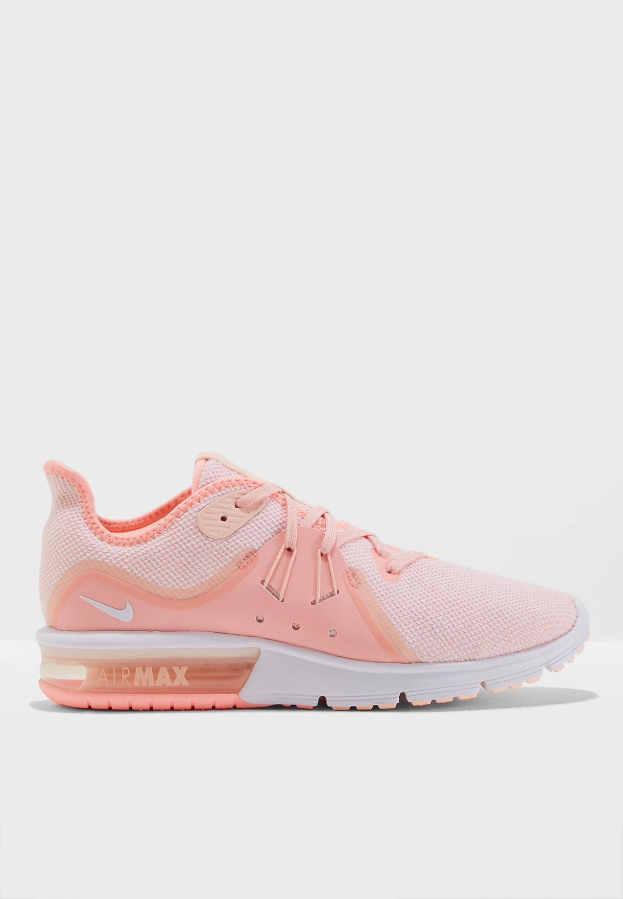 9355a6fd4c Shop Nike pink Air Max Sequent 3 908993-603 for Women in Saudi ...