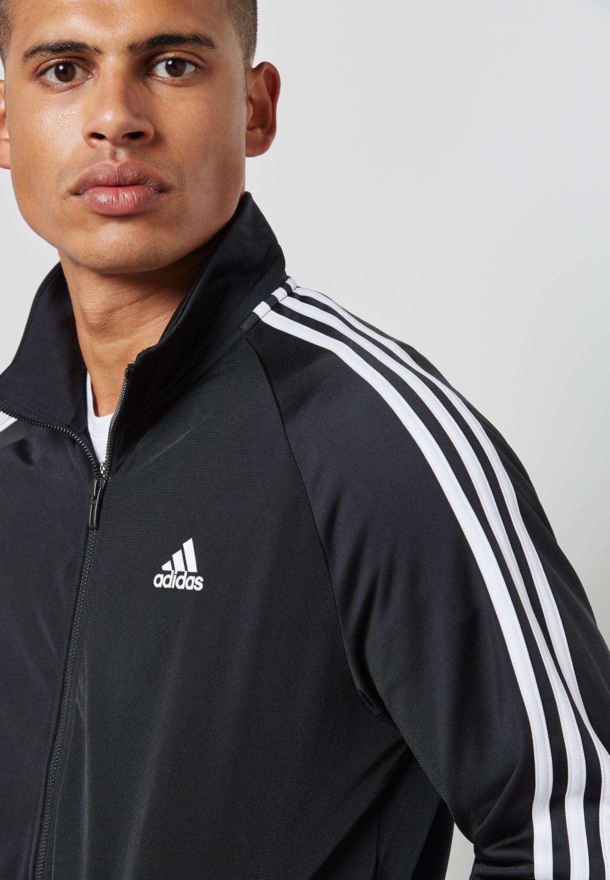 Essential 3 Stripe Track Jacket
