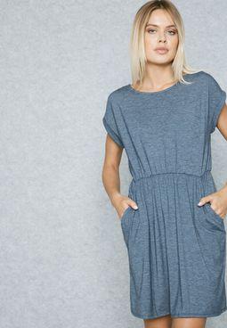 Marl T-Shirt Dress