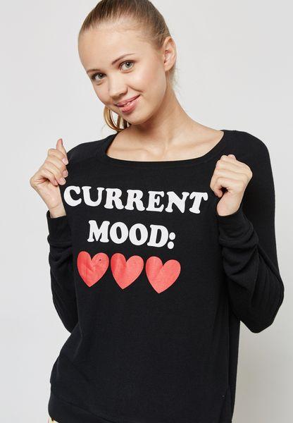 Emoji Printed Pyjama T-Shirt