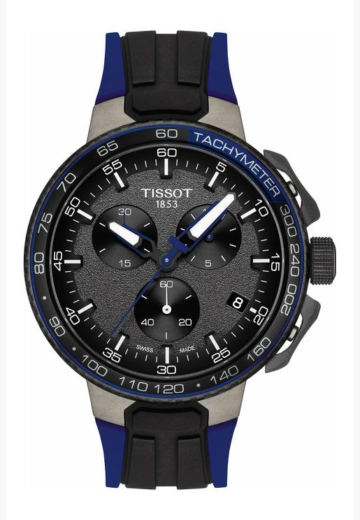 Tissot T-Race Cycling Silicone Strap Watch for Male - T111.417.37.441.06
