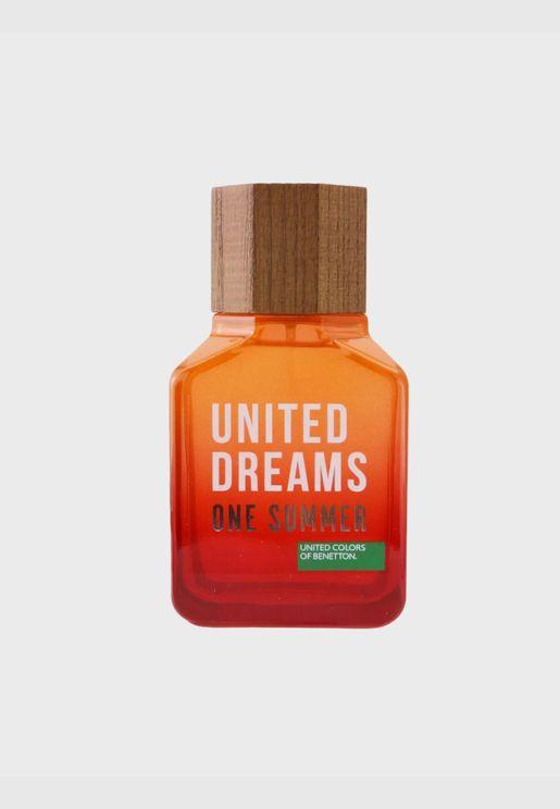 United Dreams One Summer ماء تواليت سبراي ( دفعة 2019 )