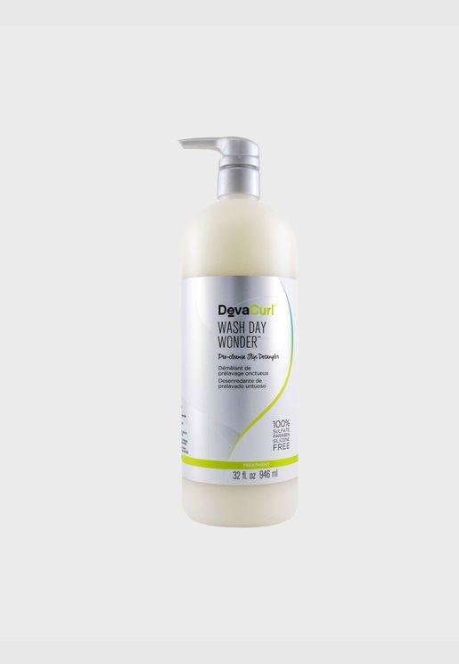 مستحضر لفك تشابك الشعر قبل التنظيف Wash Day Wonder - لجميع أنواع خصلات الشعر